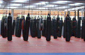 KnuckleUp Kickboxing class